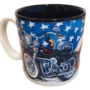 Patriotic Motorcycle Mug